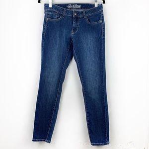 OLD NAVY The Rockstar Dark Blue Skinny Jeans 8
